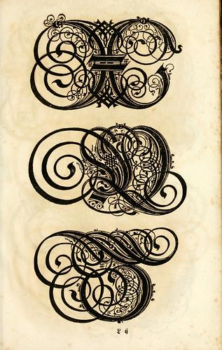 013-Kunstrichtige Schreibart  allerhand Versalie..Paul Frank 1655