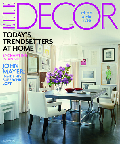 ElleDecor Sept09 Cover