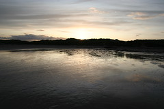 Sunset at Beadnell Beach