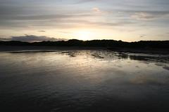 Sunset at Beadnell Beach