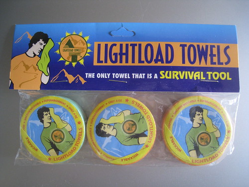 Three Pack of Lightload Towels