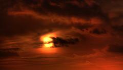 Sunset in Gothenburg (Sina Farhat) Tags: sunset photoshop canon göteborg raw sweden tripod gothenburg august remote 30d cs4 adobecameraraw masthuggskyrkan canon80200 promenix lonesame