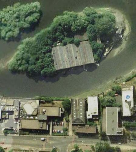 Google Earth Brentford Island