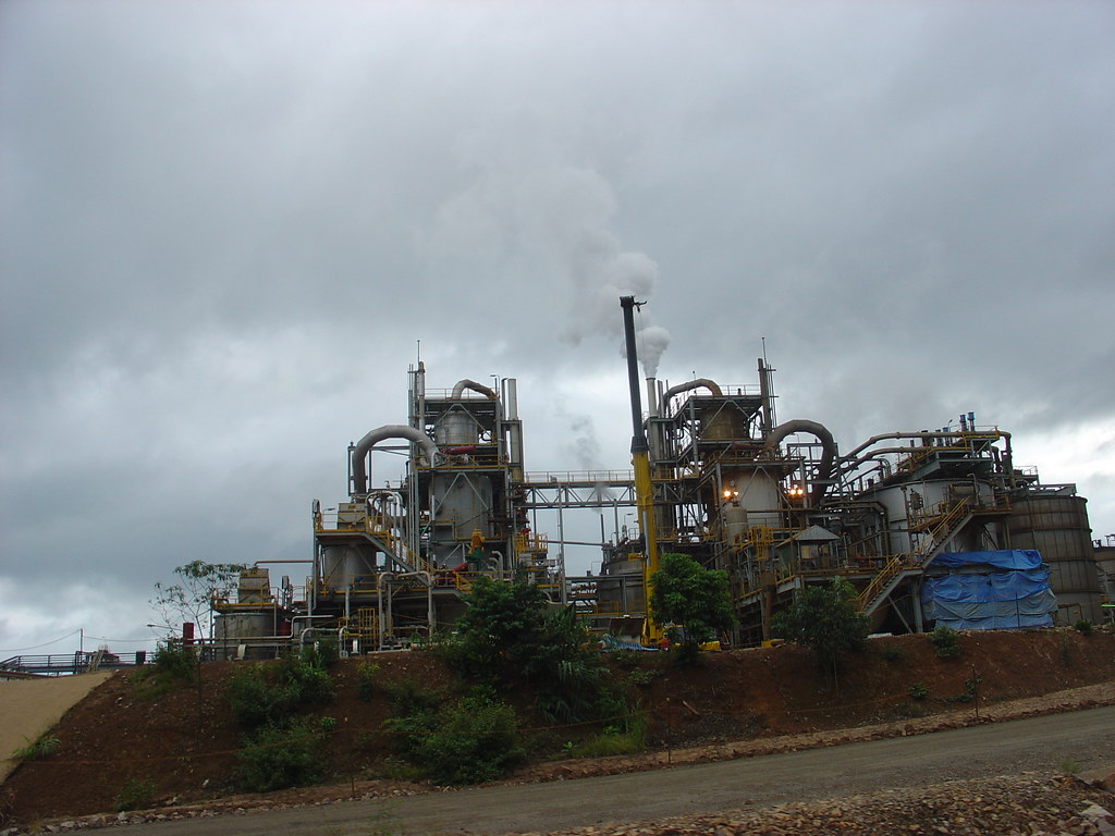 Production plant at Sepon copper mine, Savannakhet, Laos