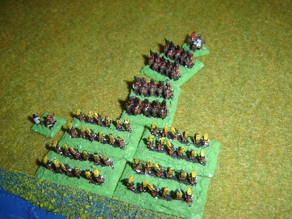Toyotomi Ashigaru rout and pursue Yamagata cavalry