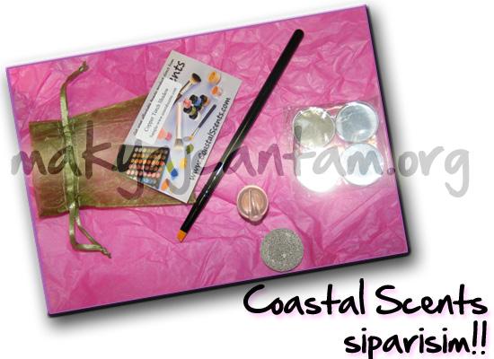 makyaj kozmetik cilt bakımı coastal scents nasıl alışveriş yapılır coastal scents sipariş verme hot pot s10 far rengi swatch