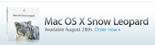 Snow Leopard Aug 28