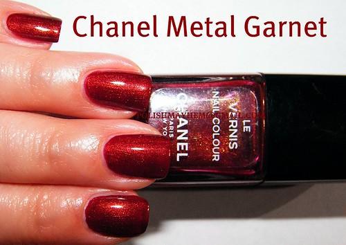 Chanel Metal Garnet