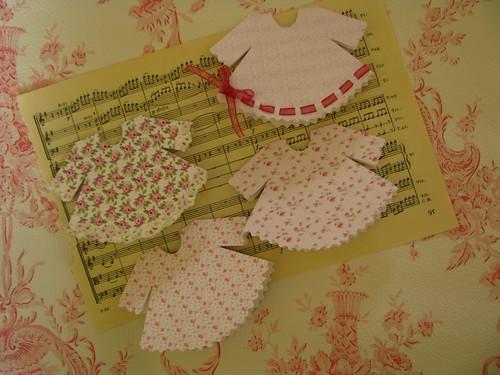 card baby dress