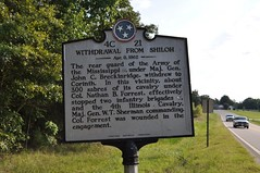 Withdrawal from Shiloh 4C 21 (King Kong 911) Tags: mississippi tennessee alabama corinth historic shiloh markers generalsherman confederatesoldiers withdrawalfromshiloh illnoiscavalry unionsoldiersmanydied majorgeneraljohnbreckinridge colonelnathanbedfordforrest tennesseebattlefieldnationalparkcivilwar