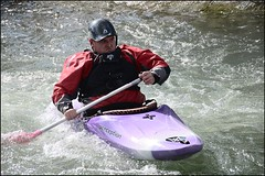 SLB05 (s.schmitz) Tags: white france water boats perception freestyle europe kayak watersports stlaurentblangy