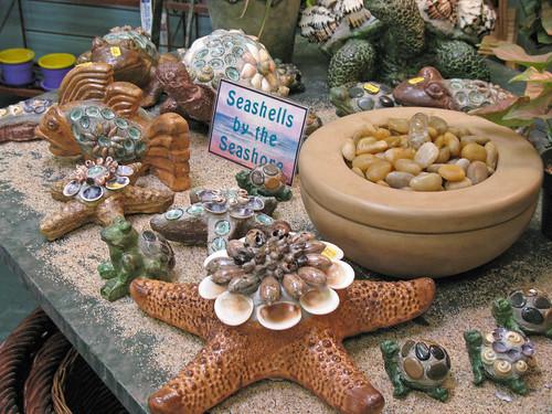 sea shell accnted pieces
