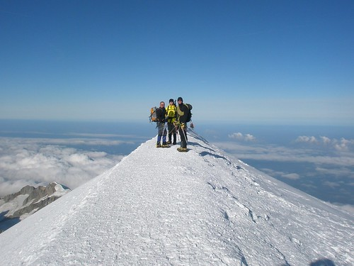Summit! Photo by Graham Frost
