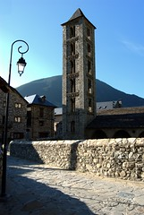 The church in Erill la Vall