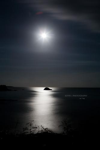 月光海洋 / Moon light ocean