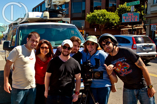 #12hrs and KPIX Crew Shot