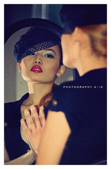 Mirror  (Explored) (~AXIS~) Tags: girl beauty face mirror homersbeautyofwoman