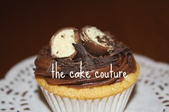 32. Vanilla Cupcake with Chocolate Frosting (The Cake Couture (is currently not taking any orde) Tags: chocolate cupcake vanilla  doha qatar                        thecakecouture