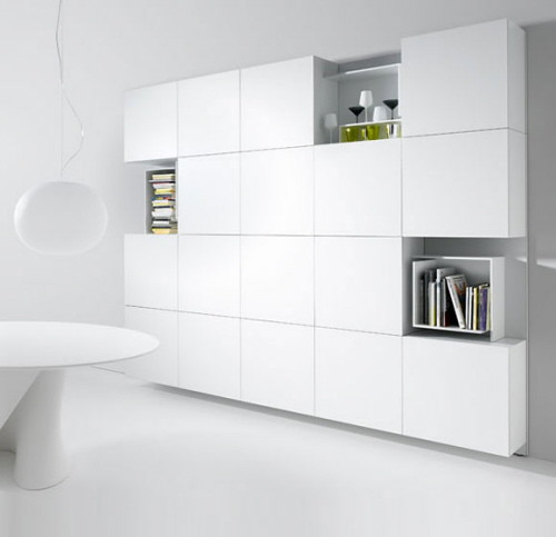 Modern Wall Unit for Storage Shelving