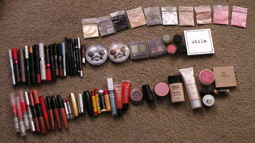 All of my makeup