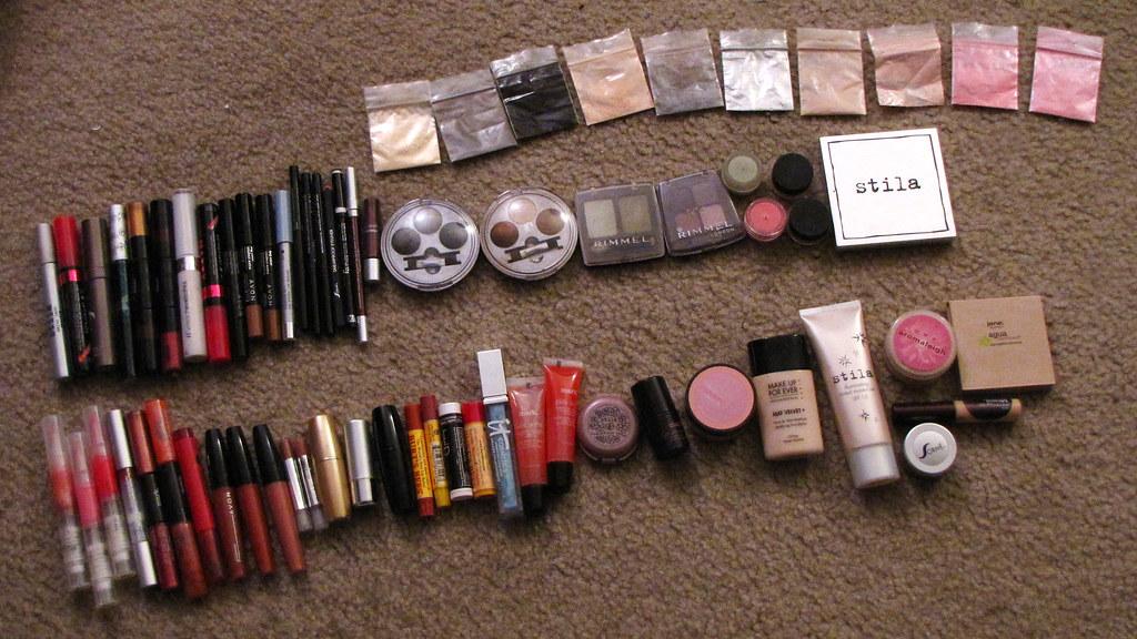 All my makeup
