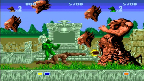 Altered Beast (arcade) - Virtual Console