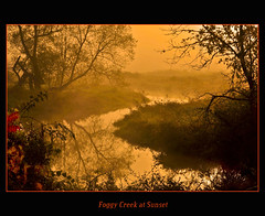 Foggy Creek at Sunset (pinecreekartist) Tags: chiaramonte beautifulearth october8 wellsboropa specialpicture theperfectphotographer pinecreekartist tiogacountypachiaramonte