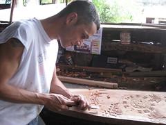 Artisan at Alfaro Factory in Sarch, Costa Rica (ashabot) Tags: costarica artisans tropics sarch alfarofactory