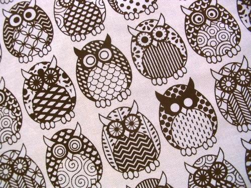 Owl Parliament in Dark Chocolate - close