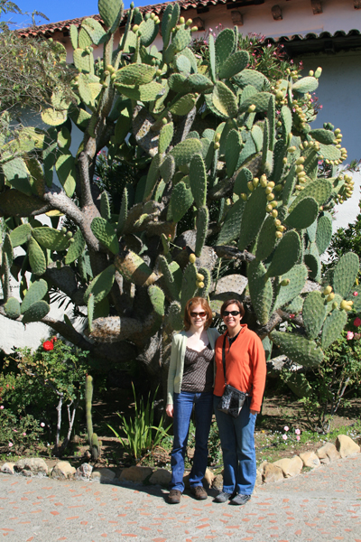Me and Rachel, Mission San Juan Bautista