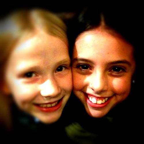 Sarah and Zoe