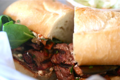 Ramona's Table Grilled Beef on French Roll 10-...