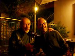 Il regista Maurizio Nichetti e Giorgio Cavazzano