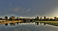Taj Ma Eaton Park (John D F) Tags: lake norfolk olympus norwich boating e510 eatonpark johnfielding