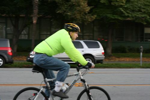 Random San Jose cyclist