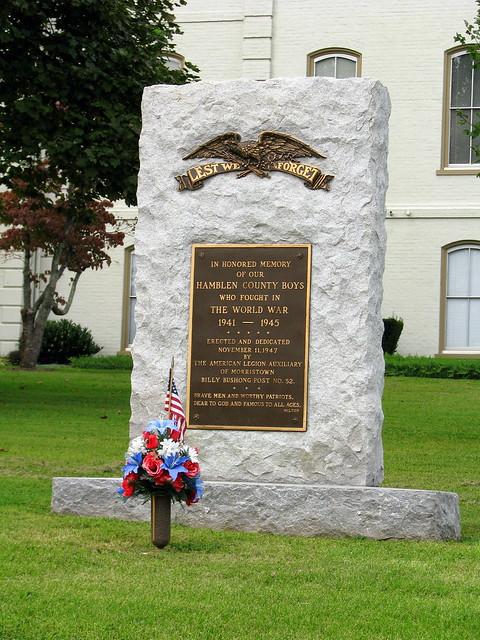 Hamblen County WWII Memorial