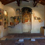 Nessebar: Frescoes inside St Spass church - year 1609