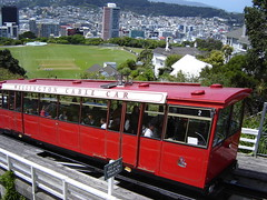 Cable Car to Botanical Garden in Wellington