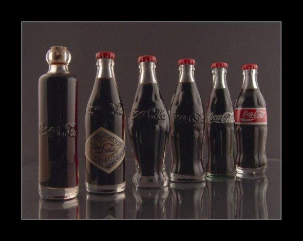 A história da coca-cola em uma imagem.