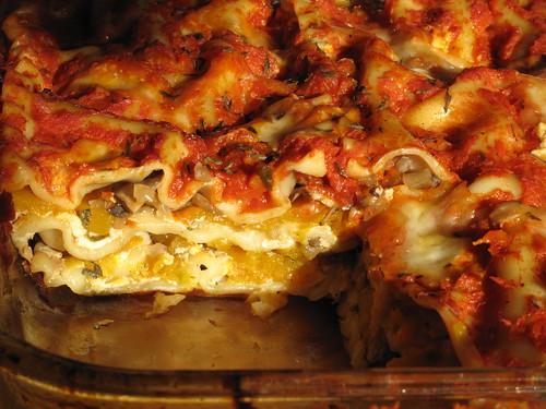 Butternut Squash Lasagne