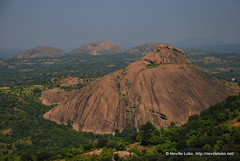 The Wierd Landscape (nevillel) Tags: trees brown mountains rocks large rocky hills vistas landsapes ramanagaram nikond80