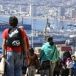 Valparaíso: Vista desde la Playa Ancha