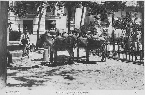 Plaza del Padre Juan de Mariana a comienzos del siglo XX. Colección Luis Alba