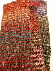 Noro scarf finished
