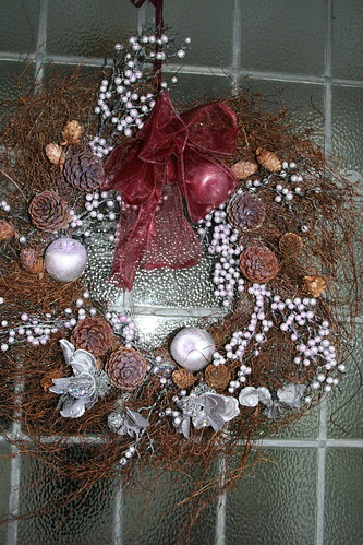 My front door wreath