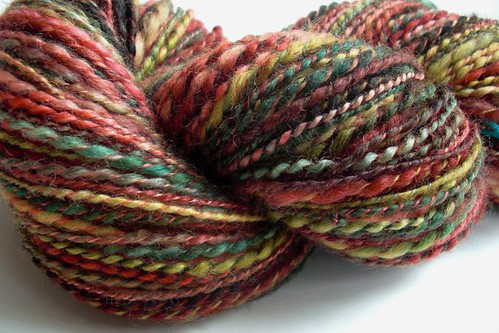 Grand Tetons ~ 215yds thickthin 2-plied-4- 12 WPI
