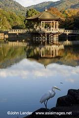 Ukimi-do (John Lander www.asiaimages.net) Tags: pagoda pond floating nara japanesepavilion floatingpavilion ukimidopavilion sageikepond
