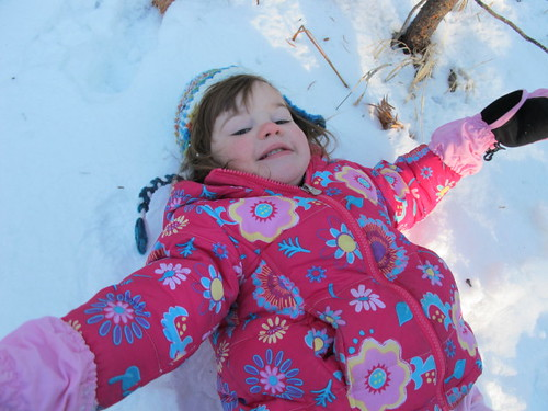 Sweet snow angel