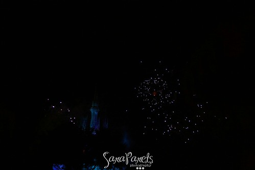 Christmas Fireworks at Magic Kingdom