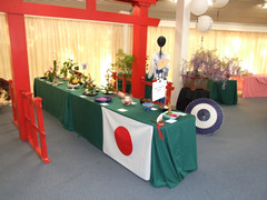 Japanese themed exhibits in show